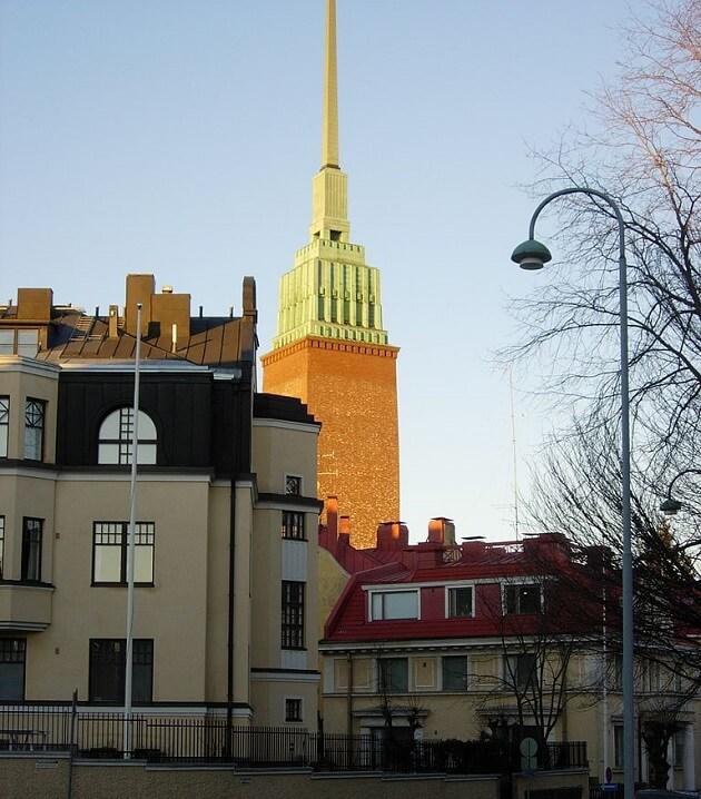 Eglise pointue Mikael Agricola, Helsinki