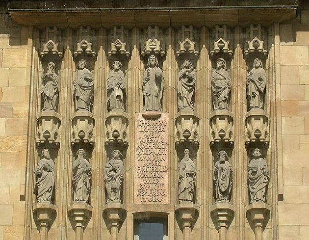 Eglise Stiftskirche, Stuttgart