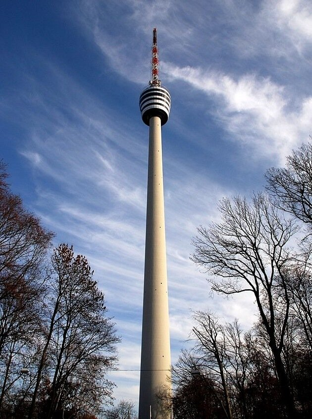 Fernsehturm, tour tv, Stuttgart