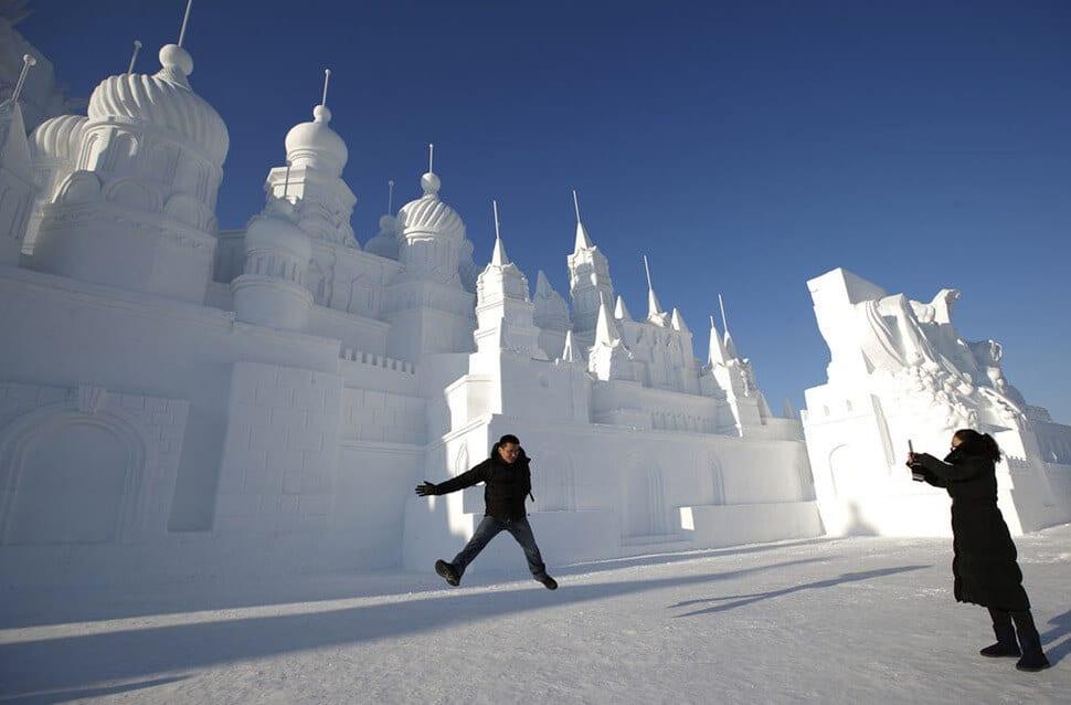Festival des sculptures sur glace de Harbin