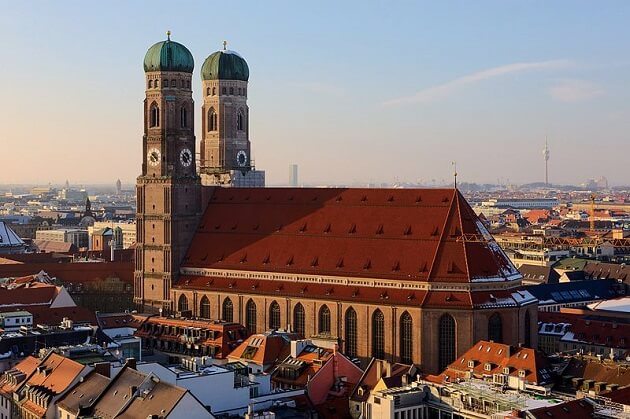 Frauenkirche, cathédrale Notre-Dame, Munich