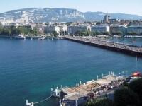 Genève photo en hauteur