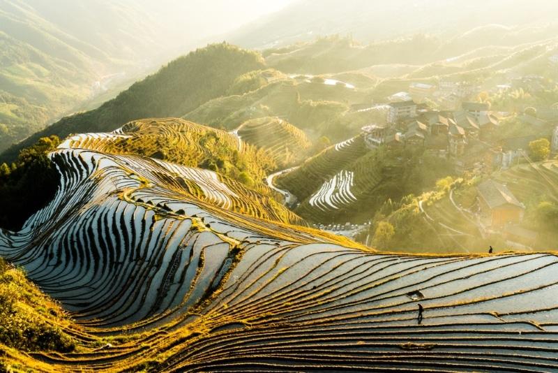 Guilin rizière Longji