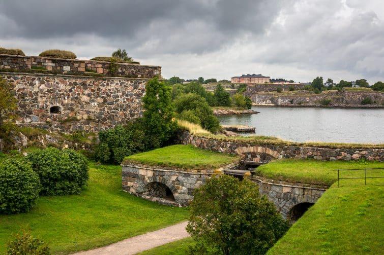 La forteresse Suomenlinna