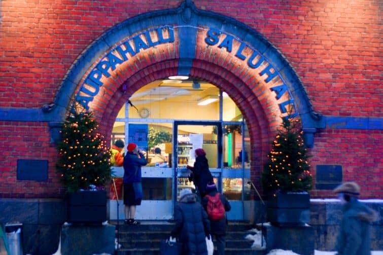 Le marché Hakaniemi