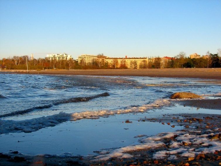 Le plage de Hietaniemi