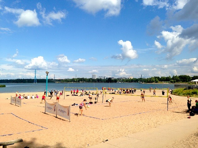 Hietaranta Beach, plage Helsinki