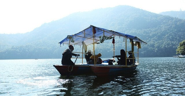 Lac Fewa, Pokhara, Népal