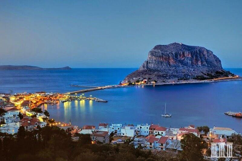 Monemvasia, Peloponnese, Grèce
