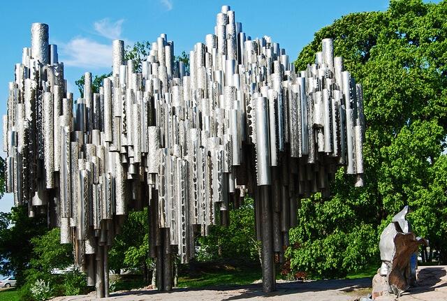 Monument Sibelius, Helsinki