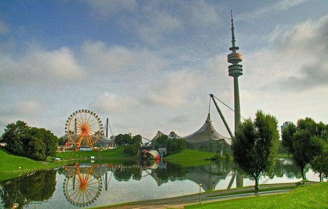 Parc Olympique, tour TV, Munich