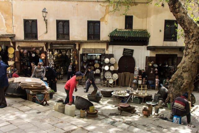 Place Seffarine Fès