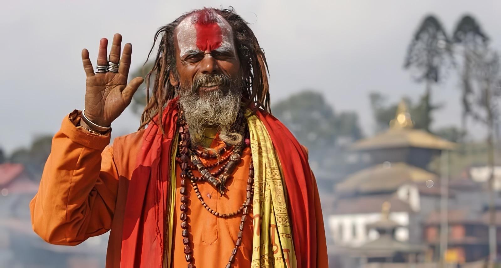 Sâdhu, Pashupatinath, Népal