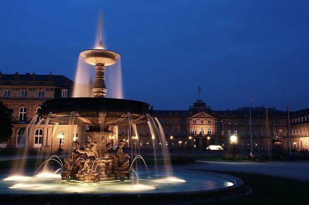 Schlossplatz, Stuttgart
