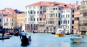 Venise gondole canal photo