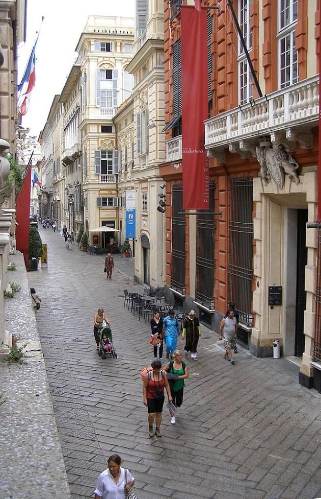 Via Garibaldi Gênes