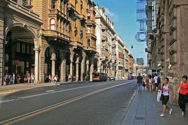 Via XX Settembre, Gênes
