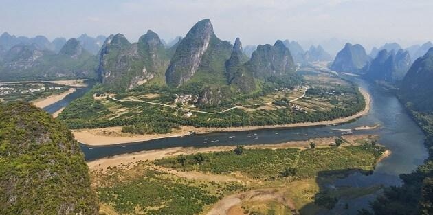 Guilin, ville touristique à couper le souffle