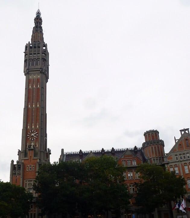 Beffroi de l'hôtel de ville de Lille
