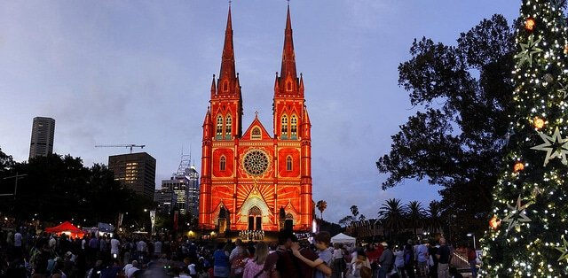 Cathédrale Sainte-Marie, Sydney