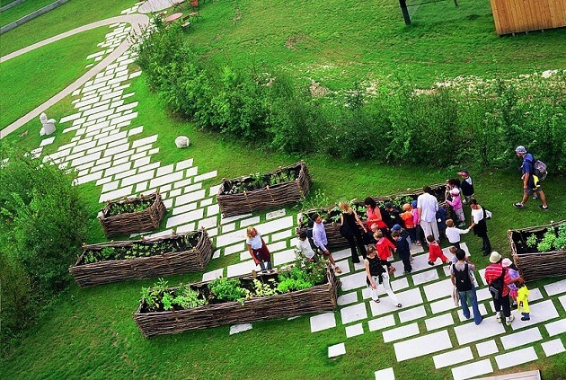 Jardin des cultures, MOSAÏC, Lille