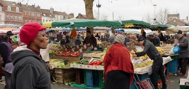 Marché de Wazemmes, à Lille
