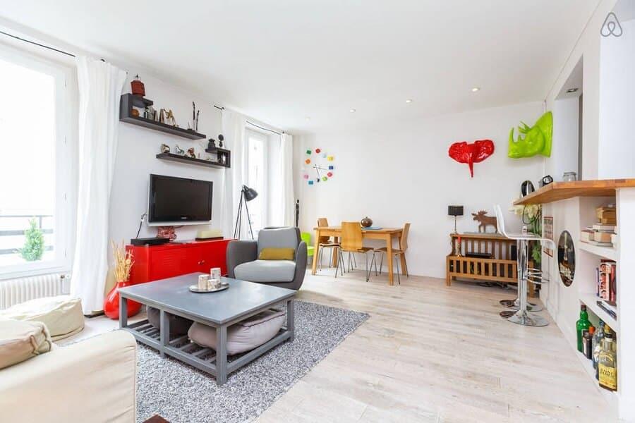 photo meilleures locations airbnb paris. Black Bedroom Furniture Sets. Home Design Ideas
