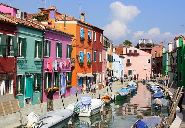 Murano, Burano, Venise