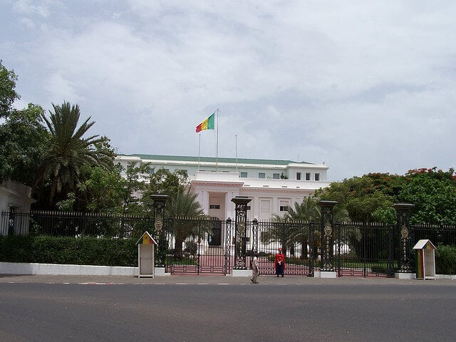 Palais présidentiel, Dakar