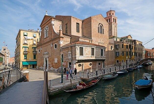 Quartier Castello, Eglise San Martino, Venise