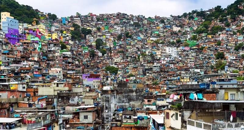 Rio et ses favelas filmée en timelapse 10K