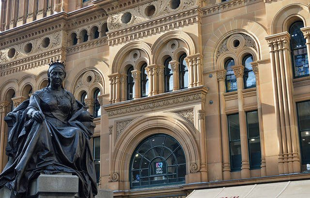 Statue Queen Victoria, Sydney