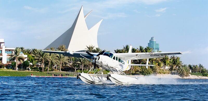 Survol de Dubaï en hydravion
