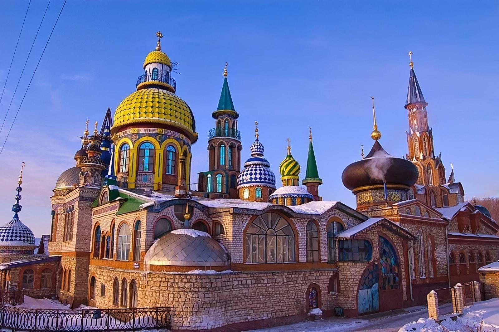 Temple de toutes les religions, Kazan, Ildar Khanov