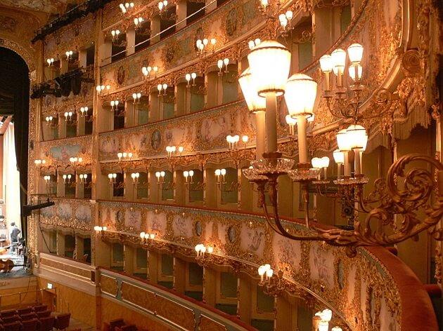 Théâtre, La Fenice, Venise