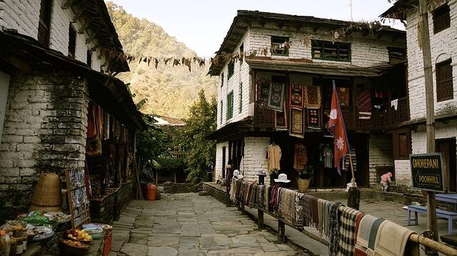 Trek des Annapurnas, Népal