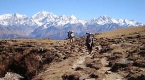 Trek, Annapurnas, Népal