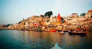 Varanasi, Gange, ville
