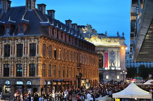 L'ancienne bourse (ou vieille bourse), Lille