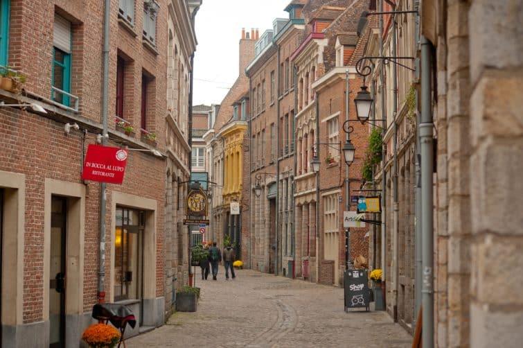 Rue dans le Vieux-Lille