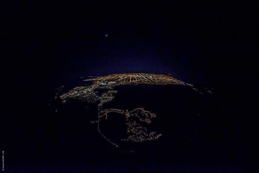 Vincent Laforet, photos aériennes, Las Vegas, nuit