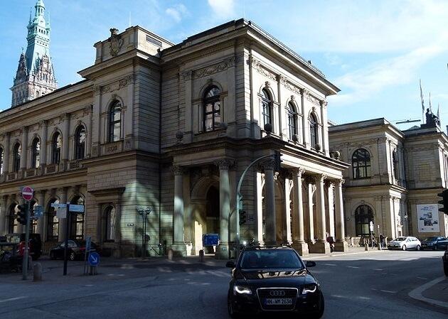 Ancienne bourse de Hambourg, Adolphsplatz