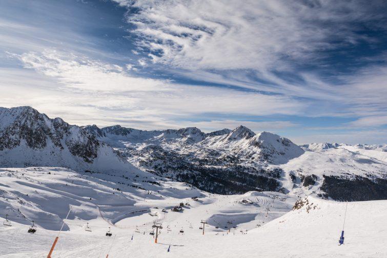 La station de ski Grandvalira