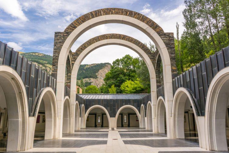 Le sanctuaire de Meritxell