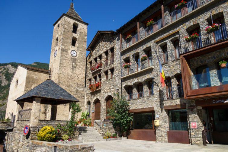 Le village d'Ordino