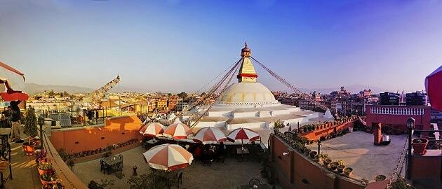 Bodnath, ville spirituelle, Népal