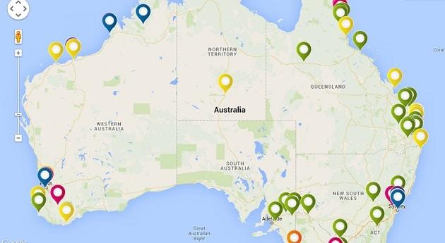 Carte Trip'N'Job, emploi Australie, WHV