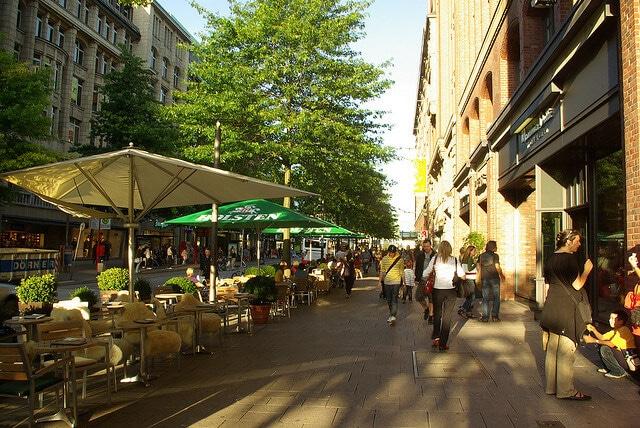 centre-ville Hambourg, Mönckebergstrasse