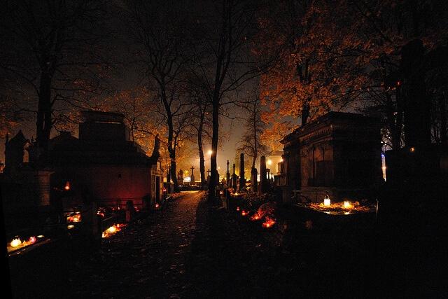 cimetière de Powązki, Toussaint, Varsovie