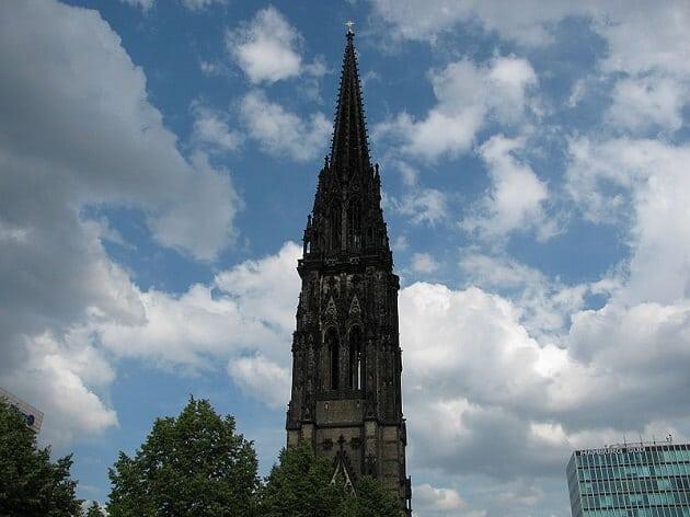 Eglise Saint-Nicolas, tour, Hambourg